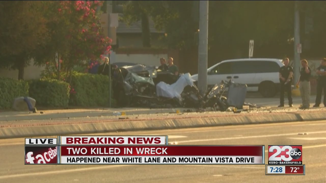 Two Killed in Wreck in West Bakersfield