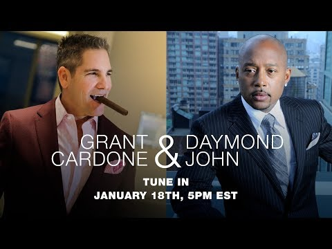 Grant Cardone Sits Down with the People's Shark Daymond John
