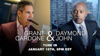 Grant Cardone Sits Down with the People's Shark Daymond John