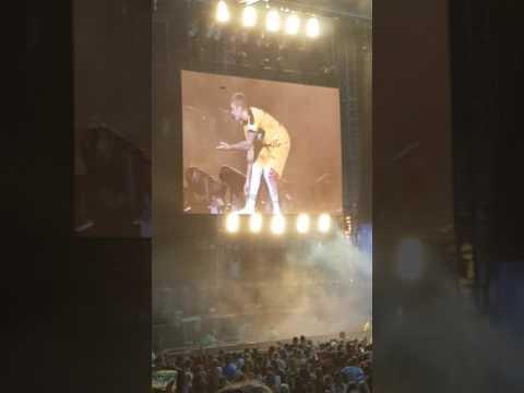Justin Bieber Stade de Suisse Bern - Shoe