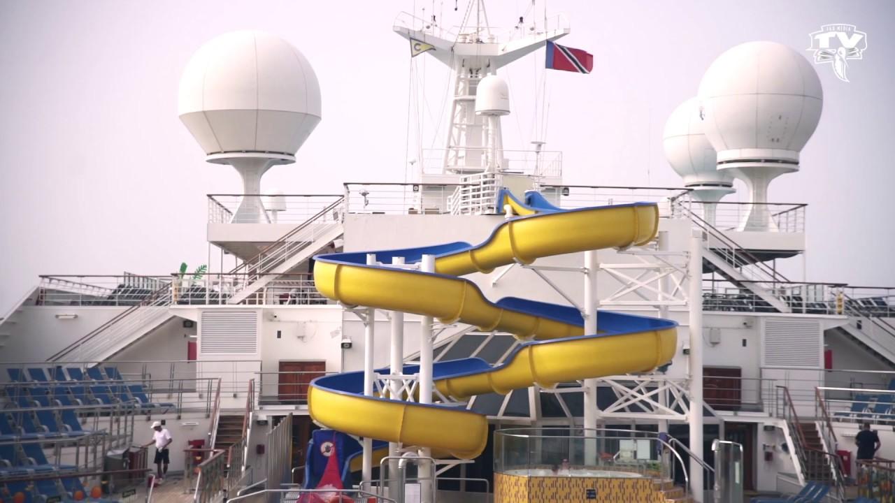 FAX cruise Jour 2 arrivée Tobago
