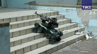 Спецназ ФСБ задействовал роботов в ходе учений в Крыму
