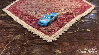 Disney Pixar Cars Diecast Misti Motorkrass (Rev N Go Racer Number 73)