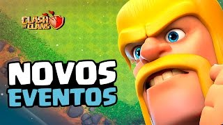 NOVO EVENTO DE TROPA E FEITIÇO + EVENTO SURPRESA | CLASH OF CLANS 2017