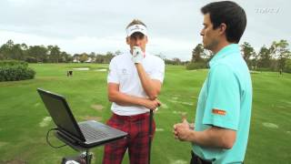 Ian Poulter - TrackMan session (1 of 3)