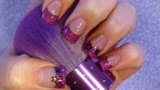 ☆★ Acrylic nail tutorial - Princess/Diva nails ★☆