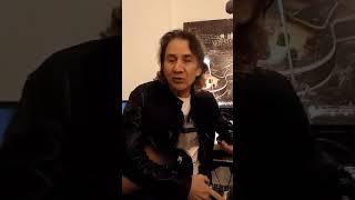 Nilo Nuñez saluda a la Tertulia Garaje Sonoro
