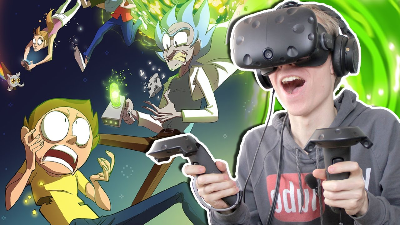 THE SUPRISING ENDING!   Rick and Morty: Virtual Rick-ality (HTC Vive Gameplay) Ep 3