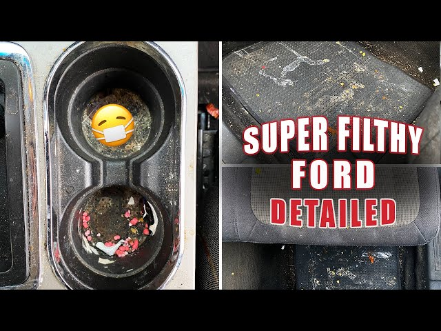 DEEP Cleaning a FILTHY Ford Flex | SATISFYING Transformation