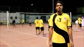 لقاء مع اللاعب خالد المزيدي لاعب فريق الحيملي لكرة الطائرة