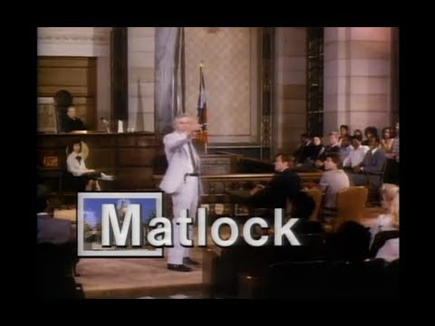 Matlock Season 2 Opening and Closing Credits and Theme Song