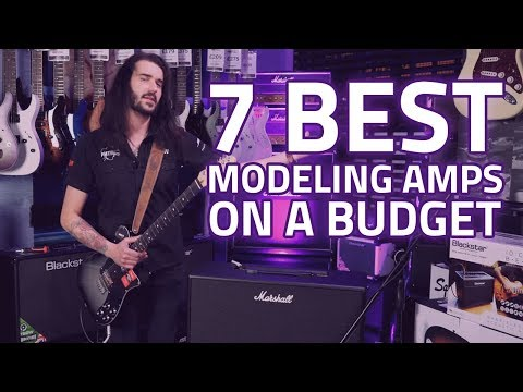 Top 7 Best Modeling Amps With Great Tone - Cheap Digital Modeling Amps