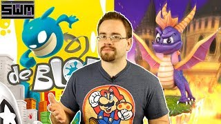 News Wave! - de Blob Goes To Switch And A New Spyro Collection Coming?