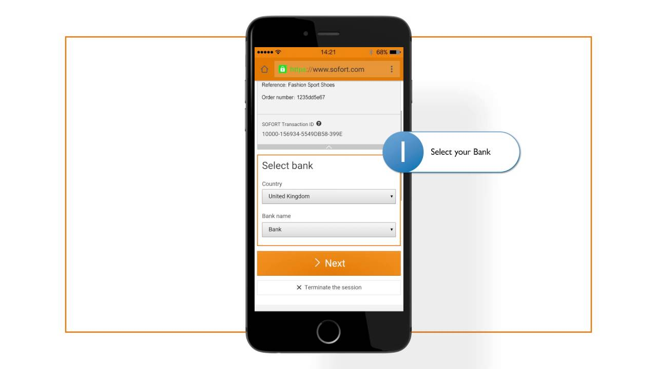 Online Banking Sofort