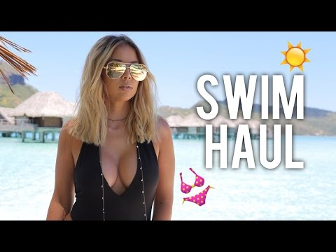 SWIM HAUL + TROPICAL CHECKLIST | LUSTRELUX