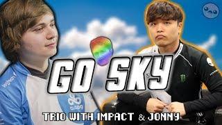 Sneaky & Impact Go Sky (ft. Jonny)