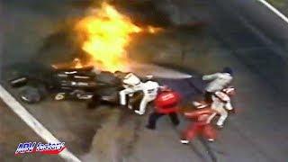 Ronnie Peterson Fatal Crash 1978 F1 Italian GP