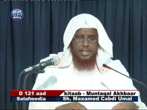 Kitaab - Muntaqal Akhbaar D 121 aad (xadiithka 1990 ilaa 2003 ) Sh. Maxamed Cabdi Umal