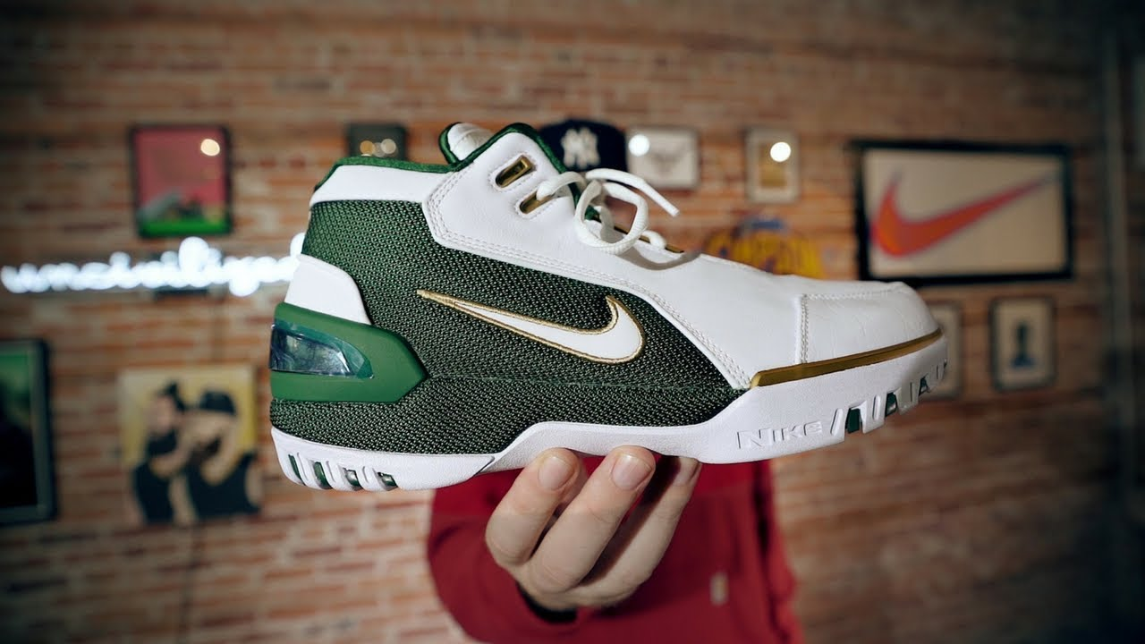 ecefef605c2 NIKE LEBRON ZOOM GENERATION SVSM! MY INITIAL THOUGHTS! - YouTube