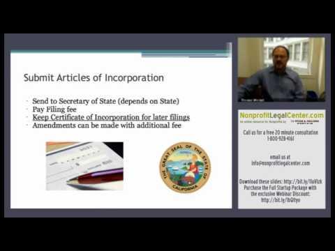 Legal Issues Facing 501(c)(3) Nonprofit Startups