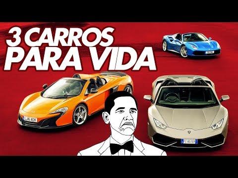 3 CARROS PARA VIDA! SEM LIMITE DE GRANA E SEM PODER TROCAR. QUAIS OS SEUS? - ACELEDEBATE #10
