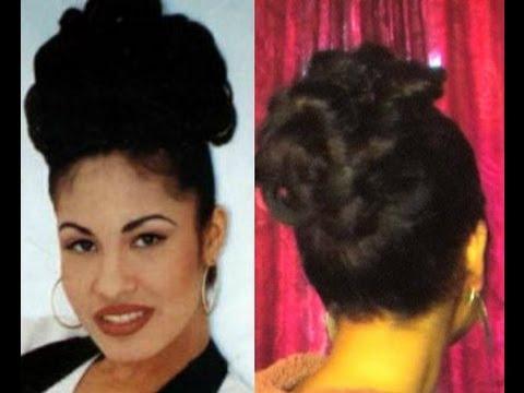 How To Selena Quintanilla Hair Style Tutorial Youtube