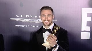 Aaron Taylor-Johnson 2017 NBCUniversal Golden Globes After Party