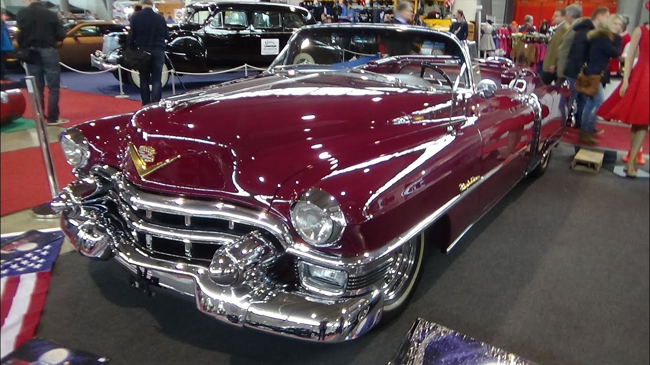 1953 - Cadillac Eldorado - Exterior and Interior - Retro ...