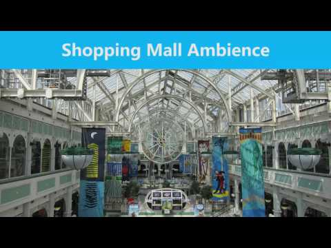 30 MINUTES - Shopping Mall Interior Ambience (CC BY 4.0)