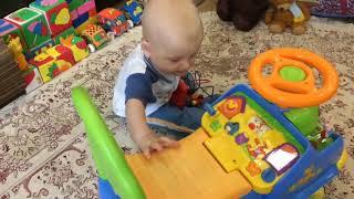 Машинка каталка Kiddieland Винни Пух Disney: играем и учимся ходить