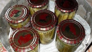 Рецепт салата огурцов в горчичной заливке. Лучшие заготовки из огурцов на зиму.