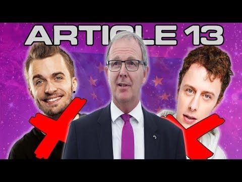 ARTICLE 13 - LA FIN DE YOUTUBE? #SaveYourInternet