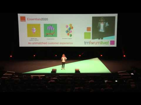 EVP Innovation, Marketing and Technologies, Orange - Keynote Speech @ TM Forum Live! 2015