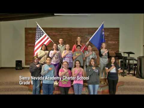 One Nevada Morning Pledge - Sierra Nevada Academy Charter School Grade 6