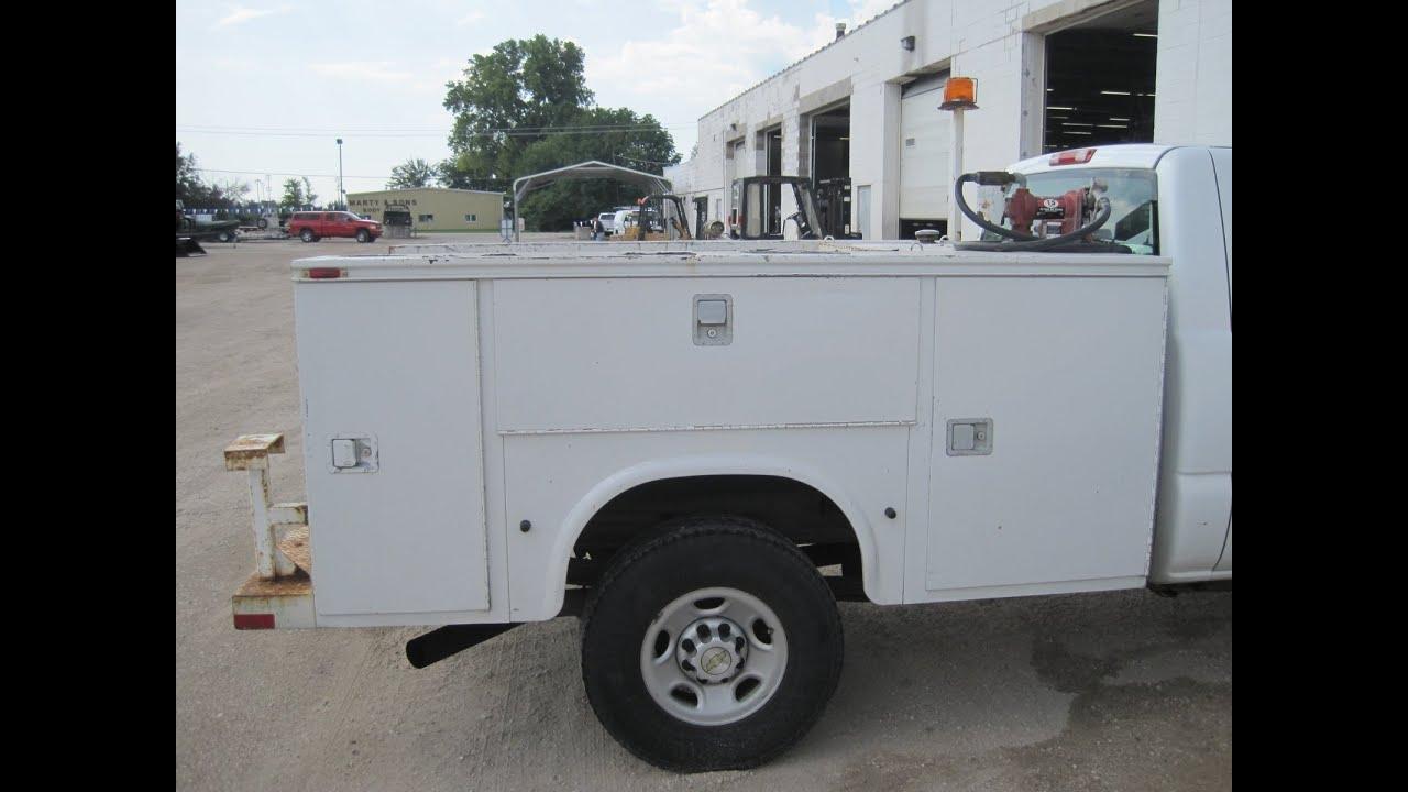 1552 Knapheide Utility Bed 8 Clean Nice W Fuel Tank