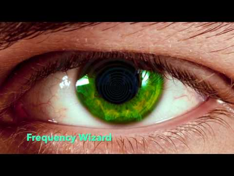 Get Glossy Green Eyes w/ Yellow Hints BIOKINESIS Subliminal Hypnosis Change Your Eye Color To Green - 동영상