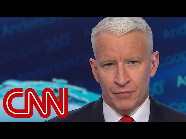 Anderson Cooper: The world changed today for Trump