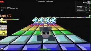 ROBLOX Mario Kart SNES Rainbow Road
