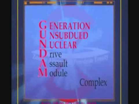 Gundam Acronym