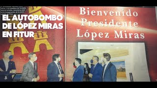 TVE - Podemos acusa a López Miras de convertir el expositor de FITUR en un set de rodaje privado