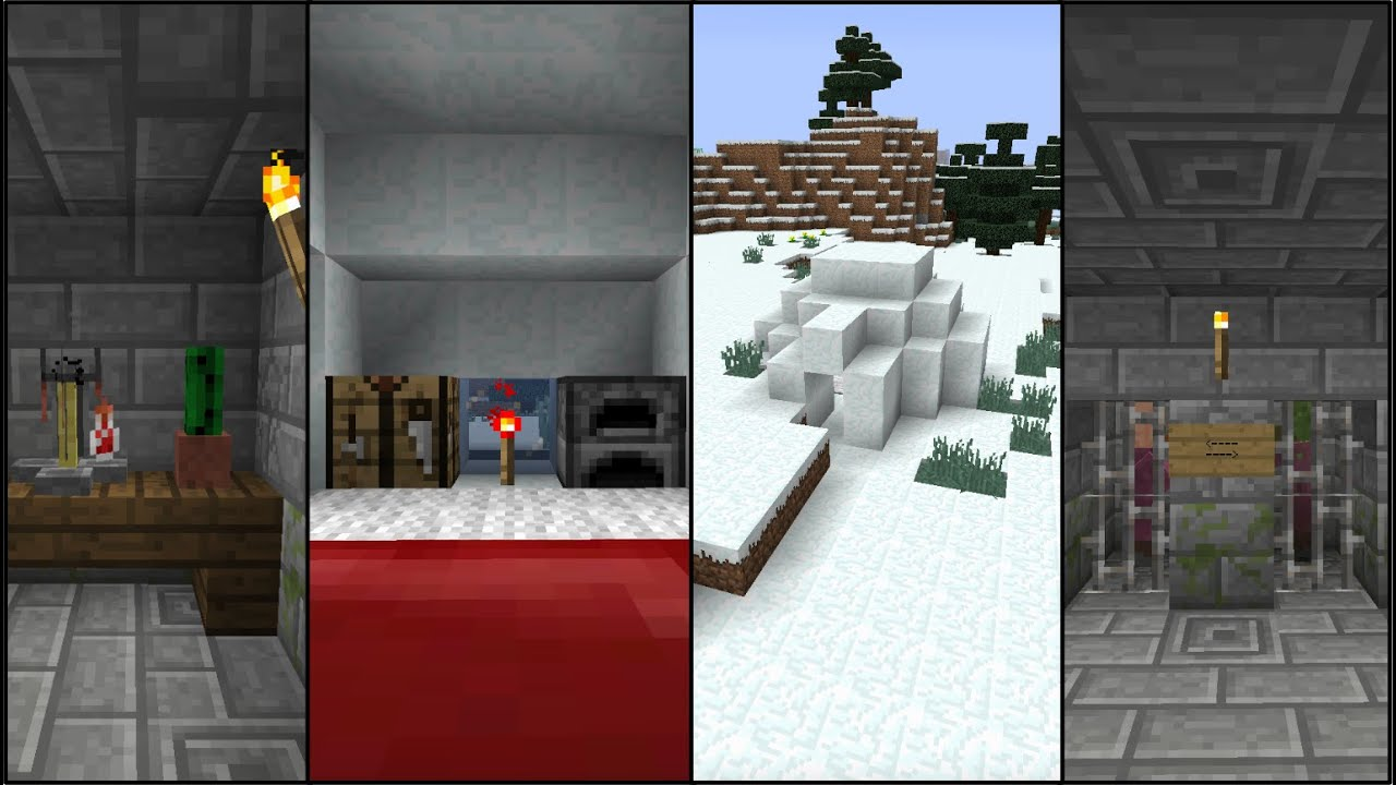 Igloo Seed With Basement Minecraft 1 11