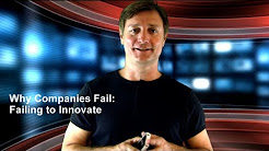 Why Businesses Fail: Failure to Innovate