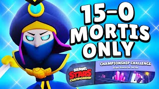 Mortis Only 15-0 Challenge 🏆