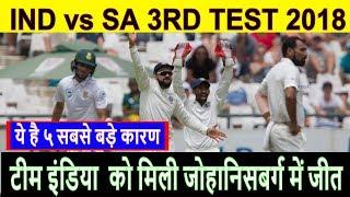 team India beat south africa win Johannesburg