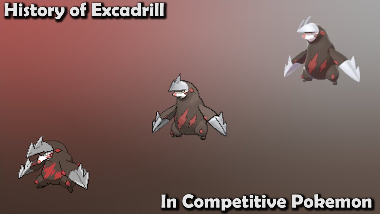 How GOOD was Excadrill ACTUALLY? - History of Excadrill in Competitive Pokemon