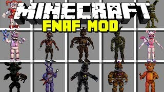 Video Minecraft FIVE NIGHTS AT FREDDY'S MOD! | FOXY, MANGLE, BALLOON BOY & MORE! | Modded Mini-Game download MP3, 3GP, MP4, WEBM, AVI, FLV November 2017