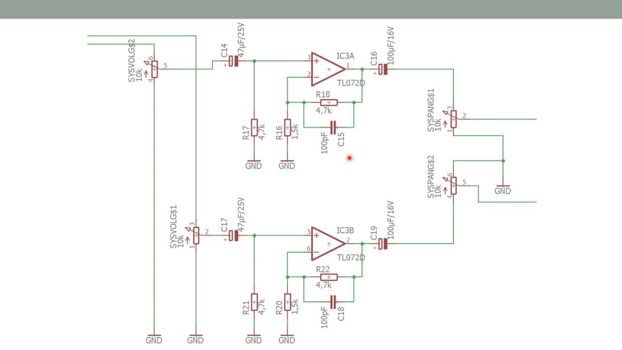Eingangsverstärker - Projekt Soundmixer - YouTube