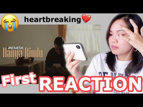 Andmesh - Hanya Rindu (Official Music Video) Reaction 😭🎤