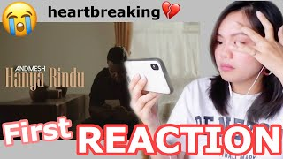 Download lagu Andmesh Hanya Rindu Reaction