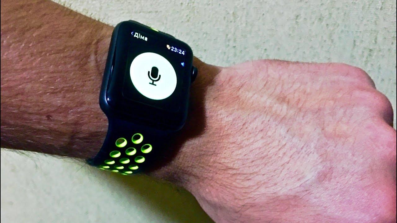 """VLOG / Apple Watch Как пользоваться приложением """"Рация"""" watchOS 5"""